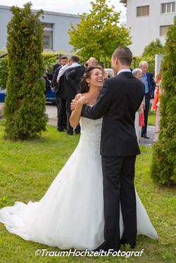 Die lachende Braut