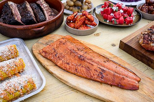 Treacle Soy and Lemongrass Salmon