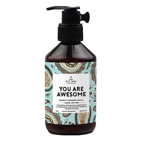 "Handlotion 250ml ""You are awesome"""