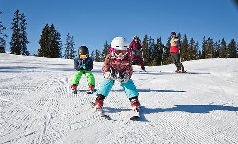 Skifahren im Home of Lässig in Saalbach Hinterglemm