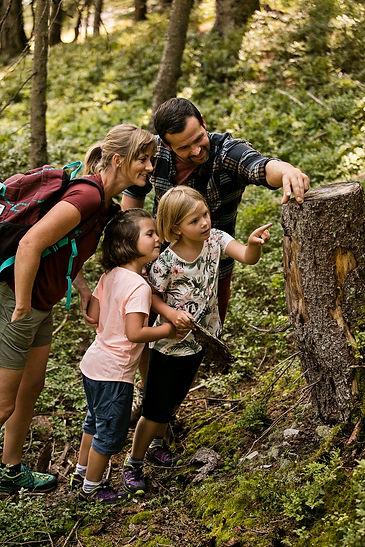 Wanderurlaub mit der Familie in Saalbach Hinterglemm
