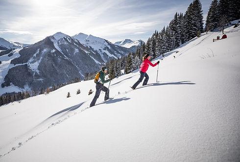 Skitouren im Home of Lässig in Saalbach Hinterglemm im Salzburger Land