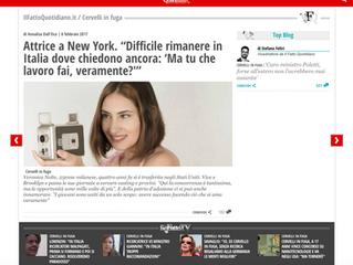 Veronica featured on IL FATTO QUOTIDIANO