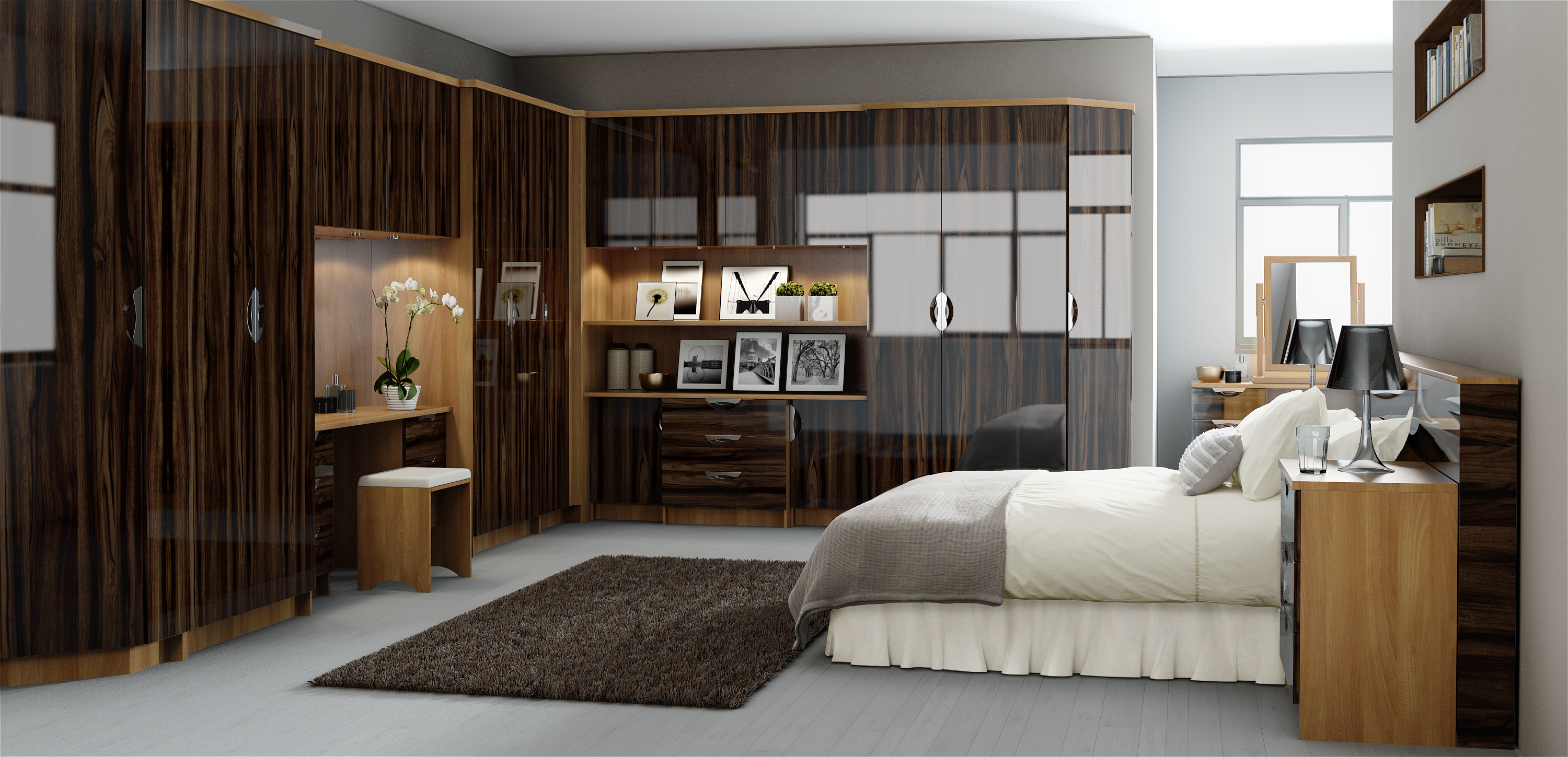 Modern Fitted Bedrooms Interiors 2 Go