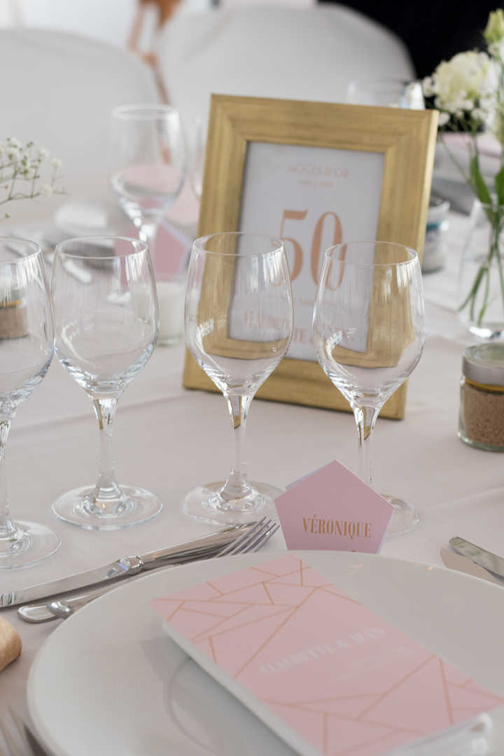 Reportage Mariage table