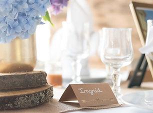 Dressage table mariage - photographe limoges - qndphotographie