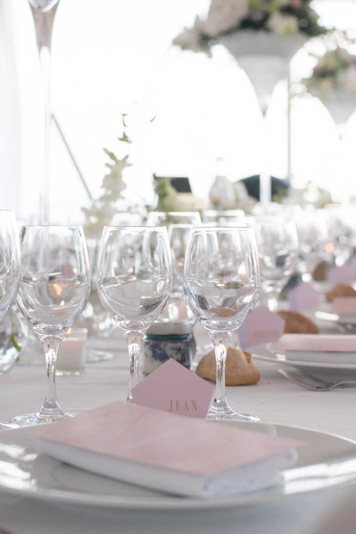 Reportage Mariage dressage table