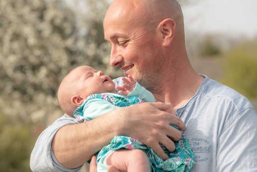 séance photo père et fille famille - photographe limoges