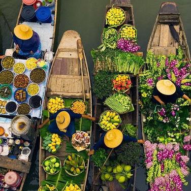 Half Day Floating Market Tour