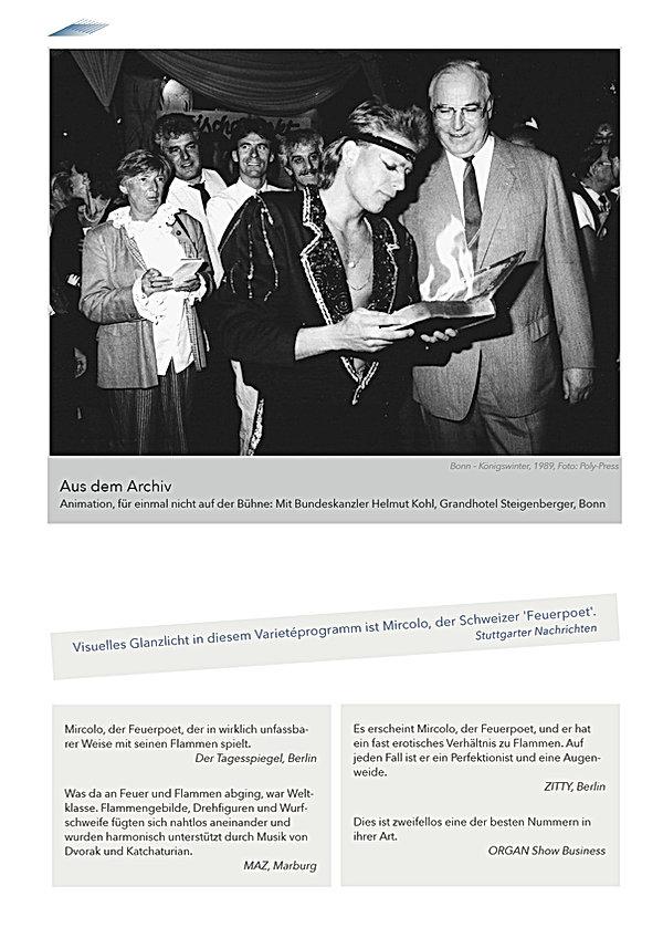 Feuerbuch, Archiv-Foto mit Helmut Kohl
