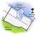 Le Polder de Sébastopol  et sa forme particulière, l'Etang du Vide