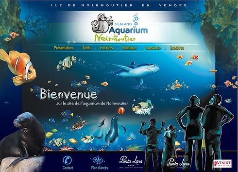 Visitez l'Aquarium et l'univers fabuleux du monde du silence