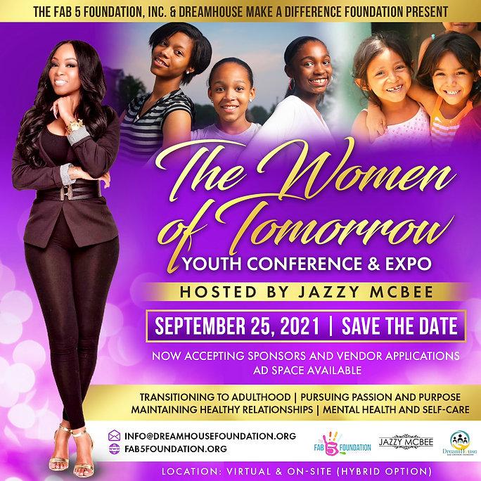 Women of Tomorrow Flyer.JPG