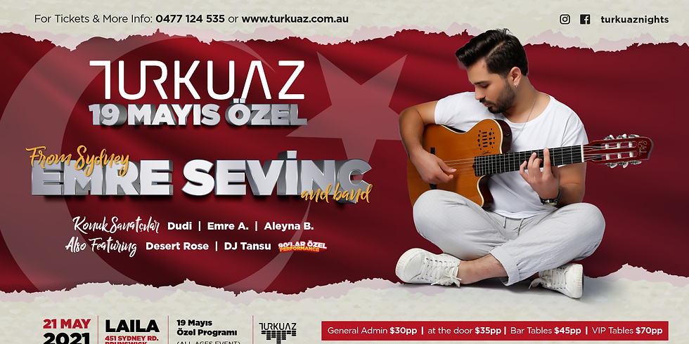 Turkuaz 19 May Special Event