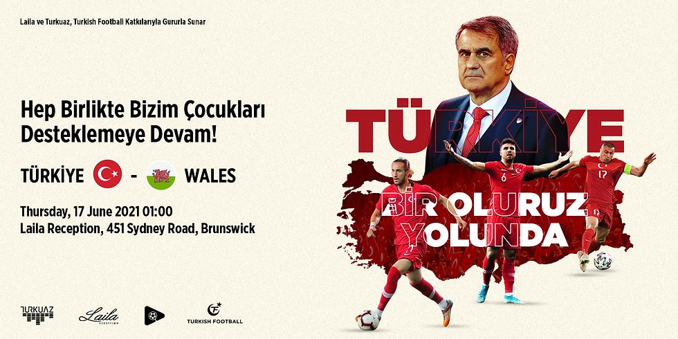 Euro2020 - Türkiye vs Wales