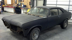 1970 Chevy Nova, project begins.