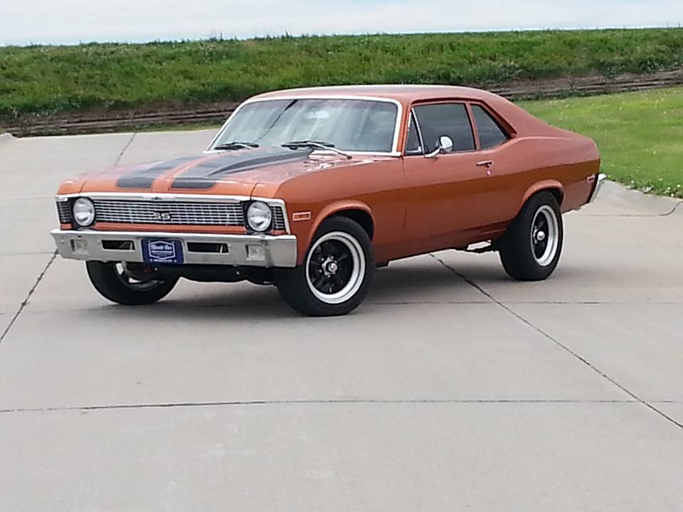1970 Chevy Nova finished project.