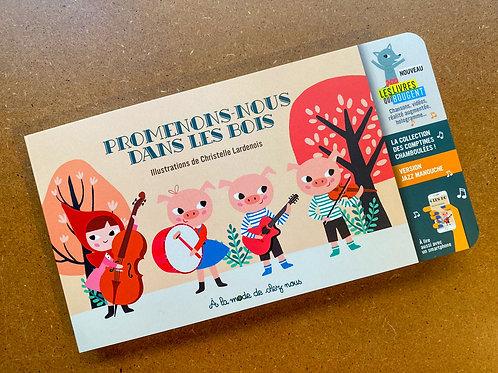Livre Promenons-nous dans les bois (8,90 €) + frais de port