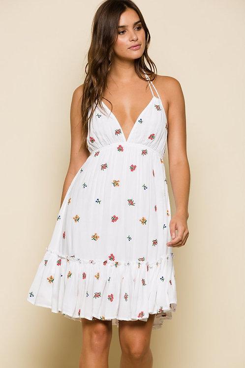 Carmela Halter Dress