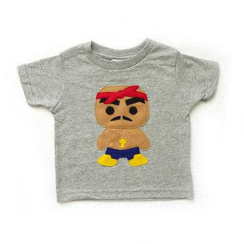 Kids T-Shirt - Rad Rapper - Red Bandana