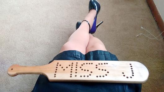 "<img alt=""otk spanking, paddling, discipline, punishment, wood paddles, over My knees, Miss J, professional Dominatrix"" src=""<image ""IMG_20170129_154950273 (1).jpg"""