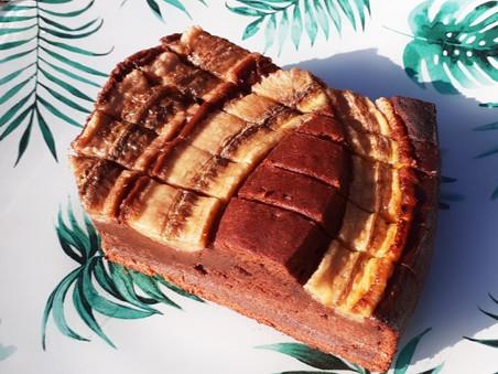 Gâteau fondant au Chocolat et à la banane