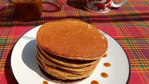 Pancakes de bananes vegan et sans gluten