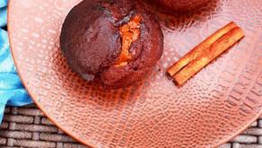 Muffins au Chocolat et beurre d'arachides