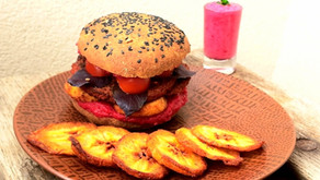 Pain hamburger à la patate douce