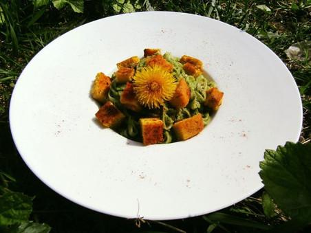 Super Pesto de moringa végétal