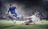 Prestasjon på fotballkampen