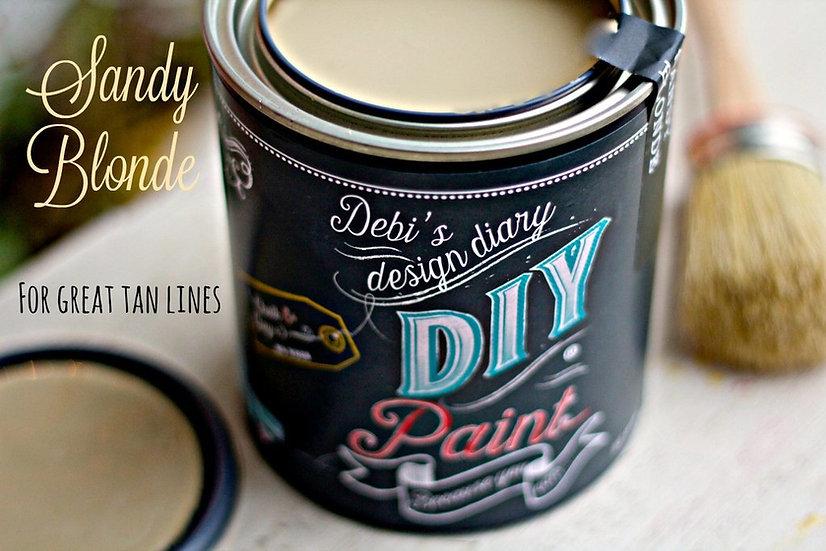 Sandy Blonde DIY Paint