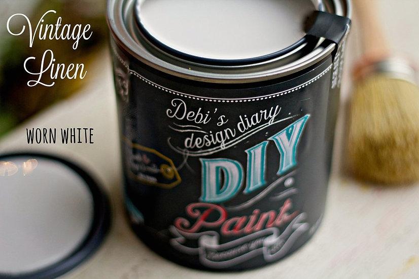 Vintage Linen DIY Paint