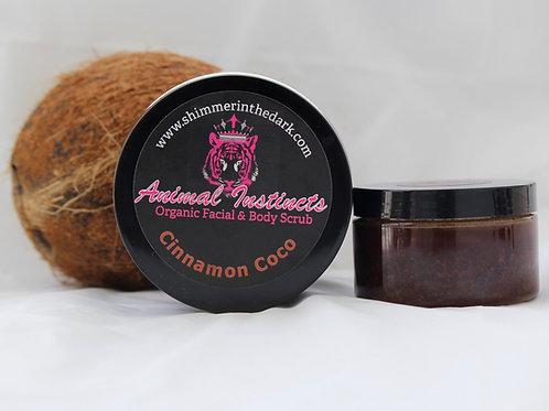 Cinnamon Coco Scrub