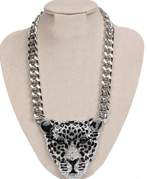 Panther Head Rope Chain