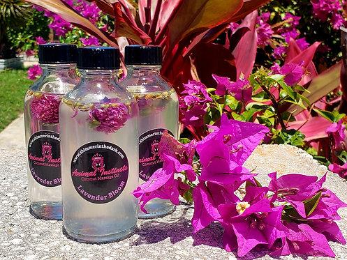 Lavender Infused Coconut Oil (4oz)