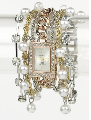 Chain and Pearl Watch