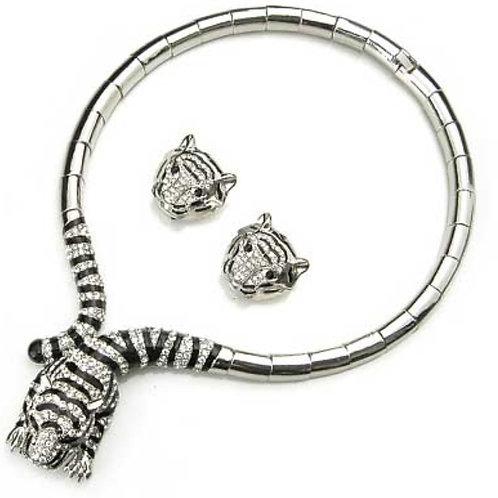 "Tiger ""Lola"" Necklace Set"