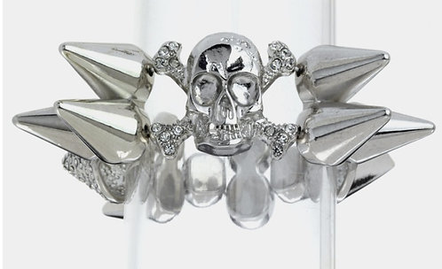 Skull and Spike Bracelet