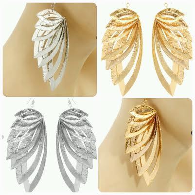 Wings Drop Earrings