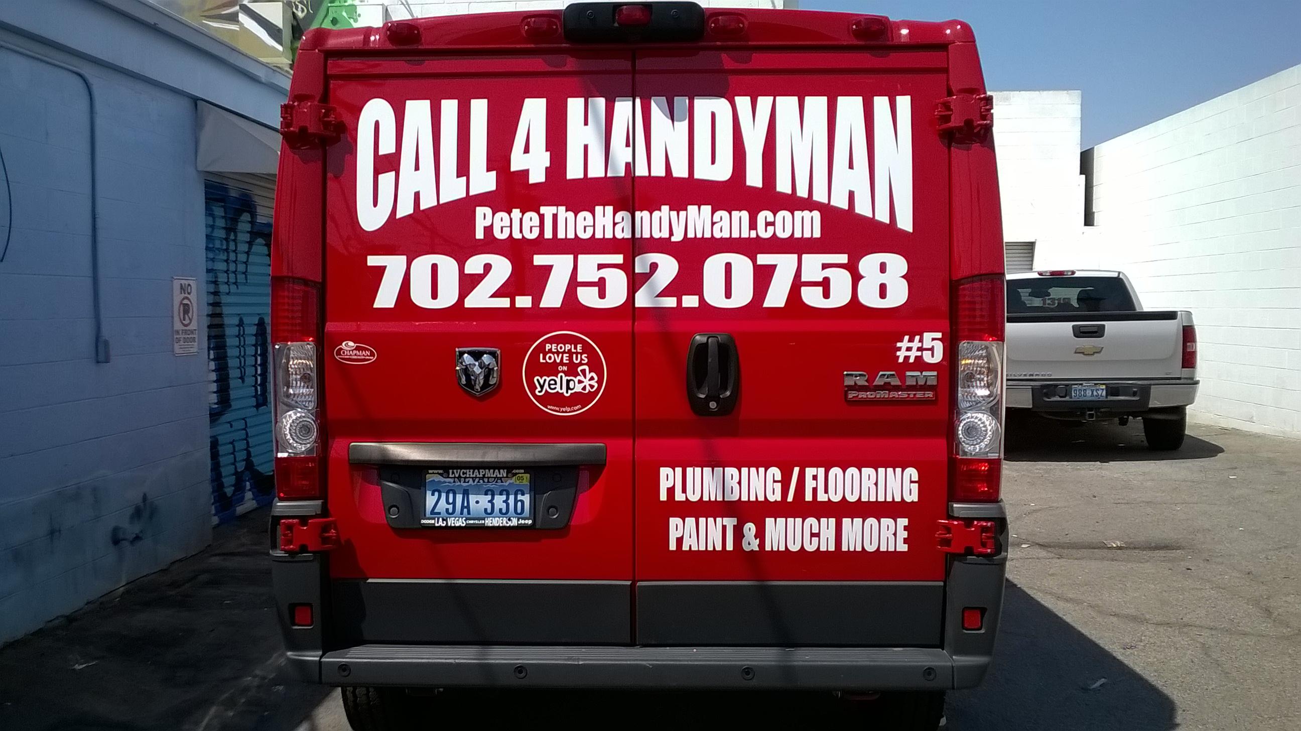 Call 4 Handyman