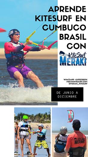 Aprende kitesurf en cumbuco  Brasil con.