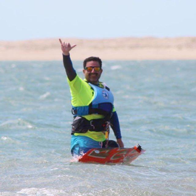Pablo y un día espectacular de Kite!!! D