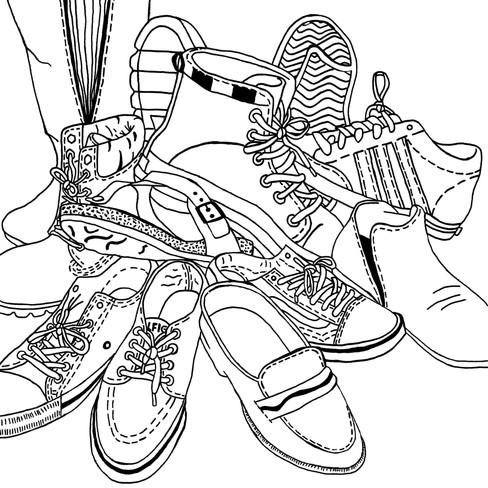 Emma Hoegler, Shoes