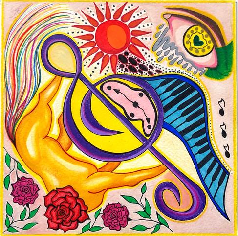 Olya Datsenko, Album Cover
