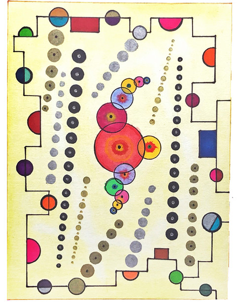 Olya Datsenko, Composition Series 2 of 3