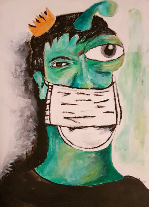 Can Cavus, Self-Portrait