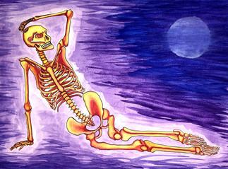 Miranda Barter, Skeleton