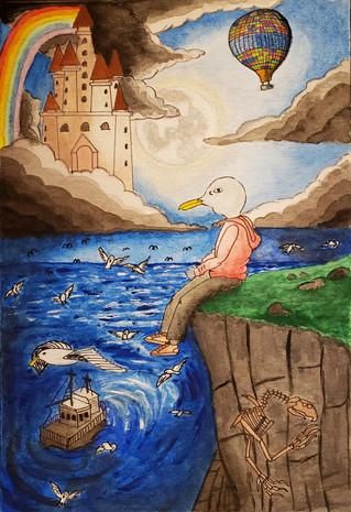 Vahide Akin Gurlu, Surreal Book Cover