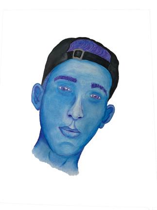 Nick Varley, Self portrait